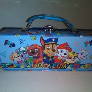 Paw Patrol Kids Tin Pencil Case Tool Box